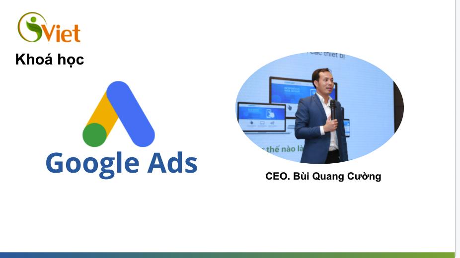 Xây dựng và tối ưu Google Ads và SEO